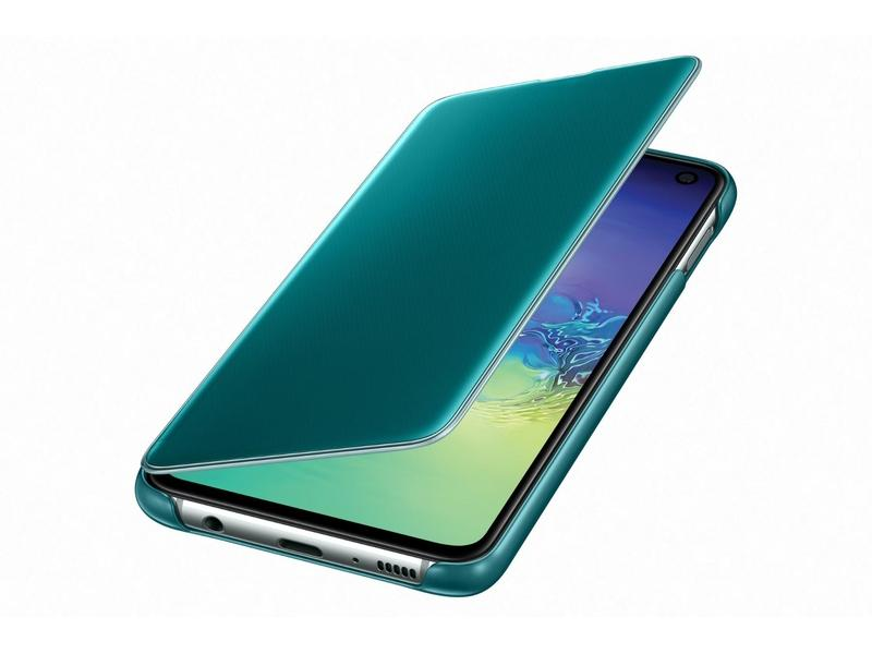 Samsung Clear View Cover S10e Green