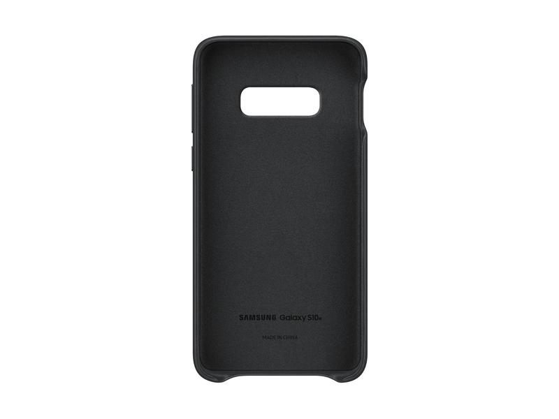 Samsung Leather Cover S10e Black
