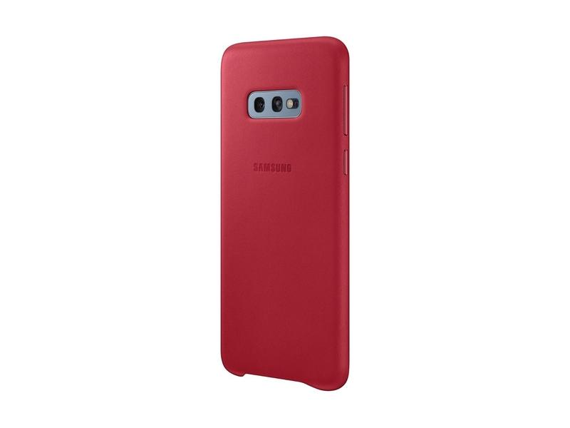 Samsung Leather Cover S10e Red